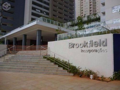 vendo apartamento flat ou sala comercial no brookfelds towers no jardim goiás em goiânia on line 62. 999.459.921 - rb417 - 33566319
