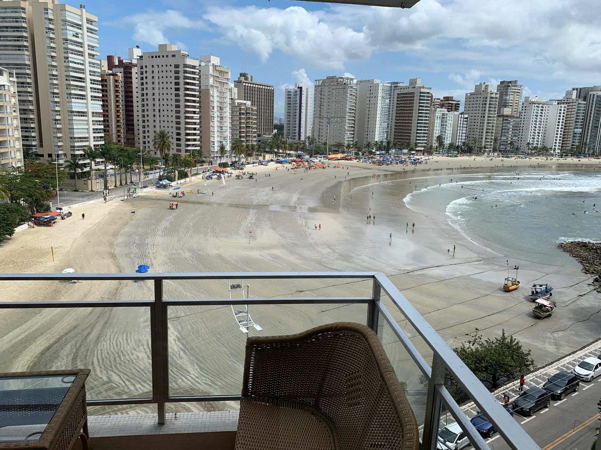 vendo apartamento frente ao mar astúrias guarujá