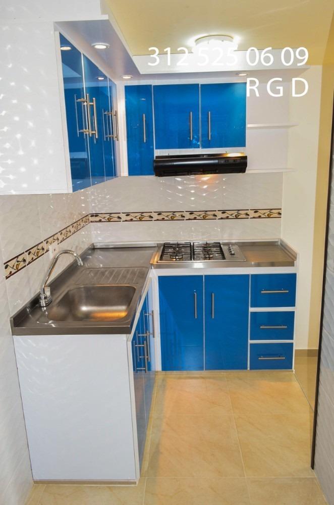 vendo apartamento gachacipa molinos 3 piso 47 m2 $ 119 mllon