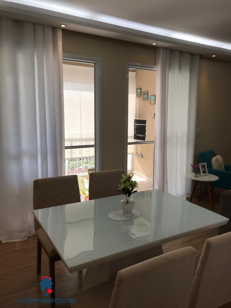 vendo apartamento impecável, residencial prime acqua, venha conferir, agente uma visita, grande oportunidade. - ap00865 - 33907987