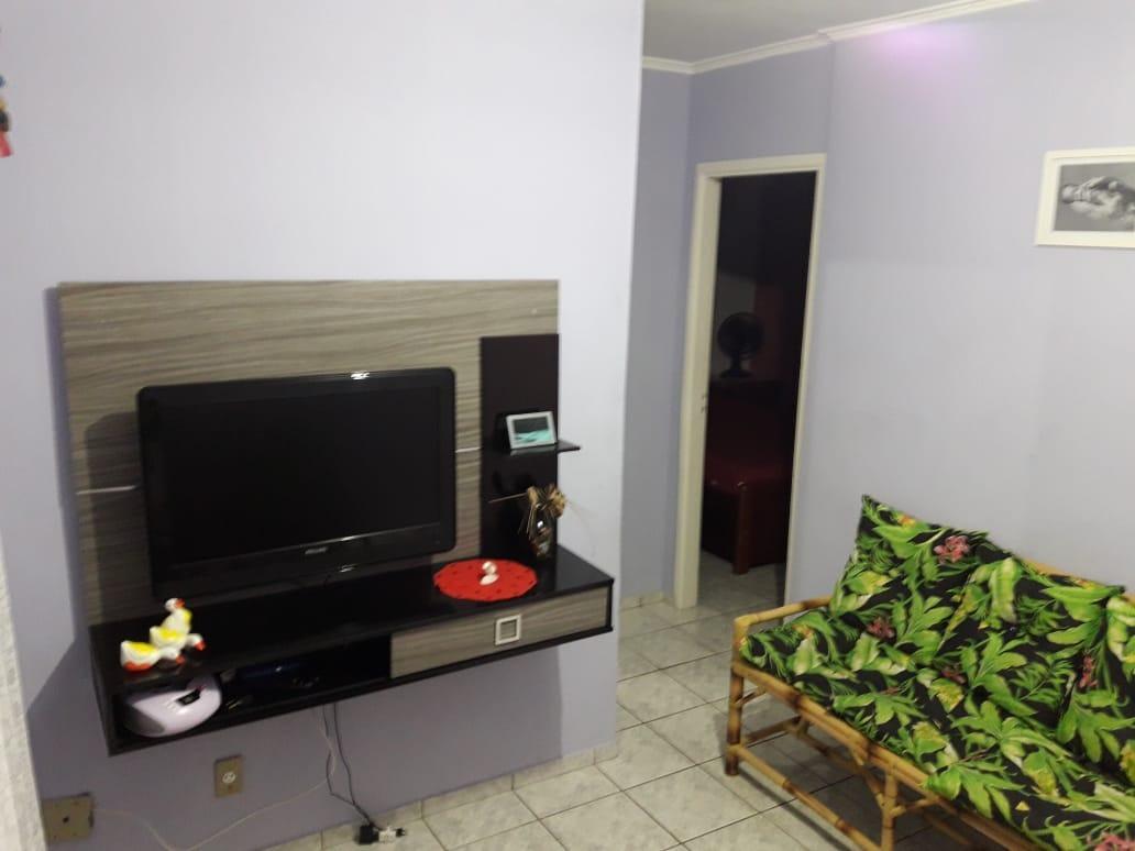 vendo apartamento na praia em agenor de campos 2 dormitorios