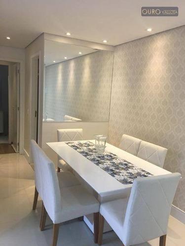 vendo apartamento na vl prudente - 55m²- 2 dorm - 1 suíte - sala com sacada - lazer completo - ap1142