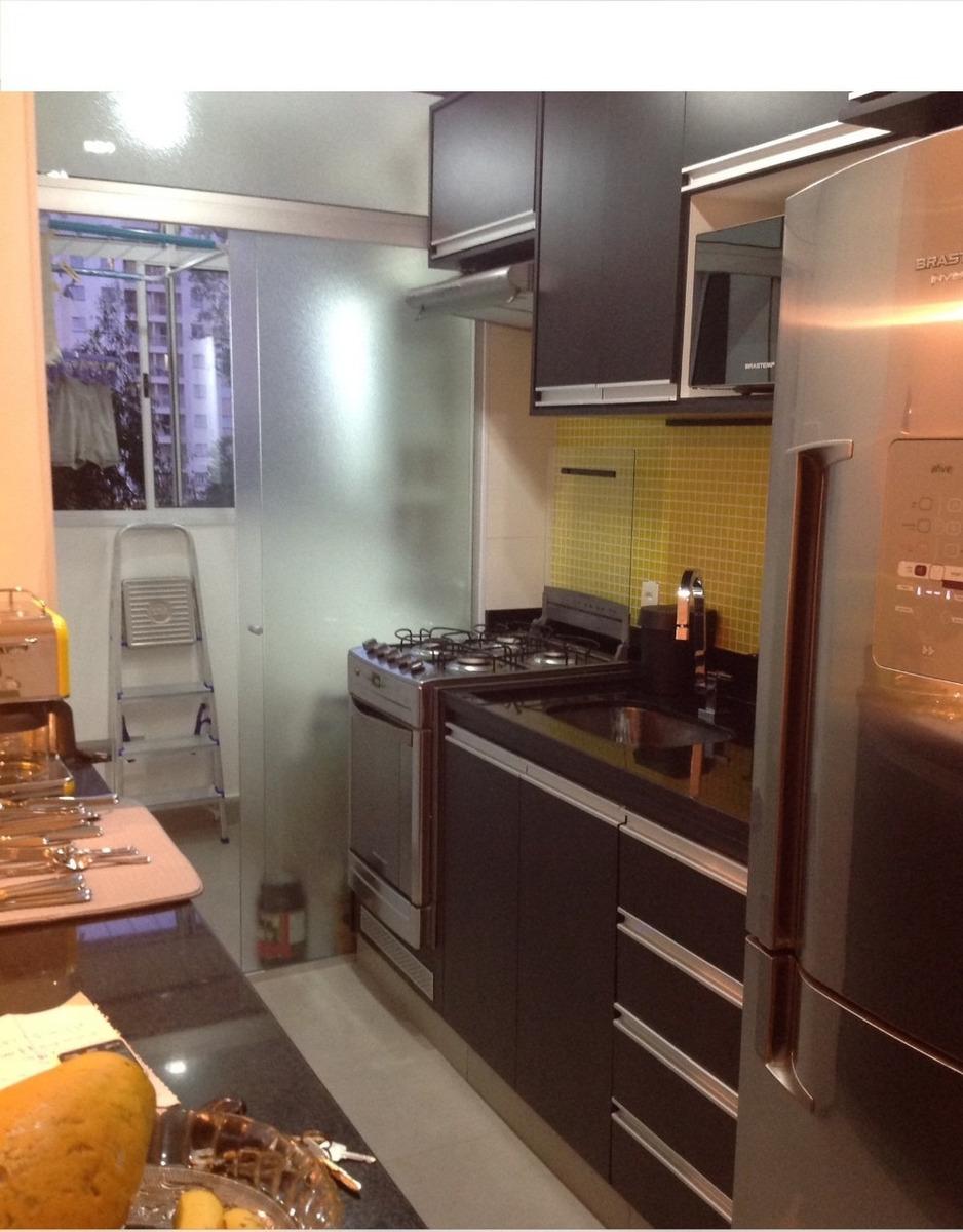 vendo apartamento novo - mobiliado - impecável