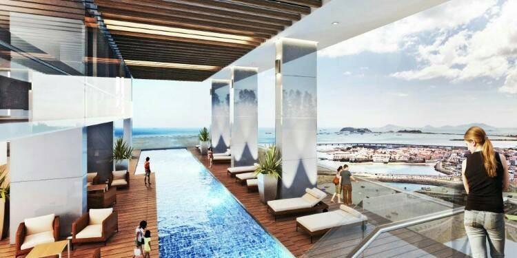 vendo apto, horizon tower residences, av balboa#18-268**gg**