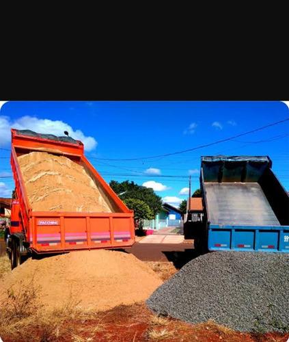 vendo areia areola pedra 0, 1, 2 barro pó de pedra