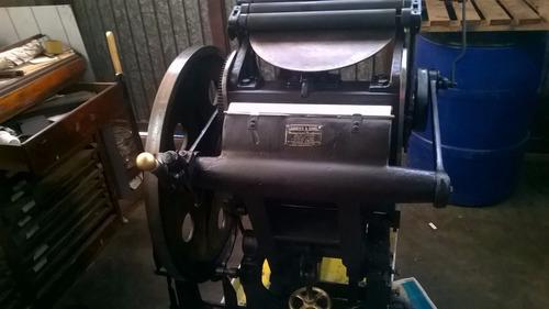 vendo articulos y maquinas para letterpress y encuadernacion