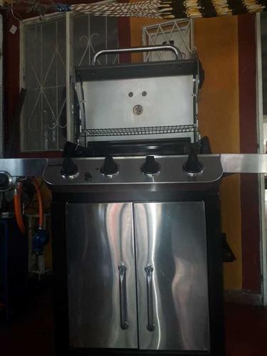 vendo asador 4 fogones y una cocina