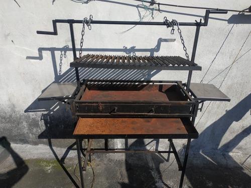 vendo asador para asados en familia