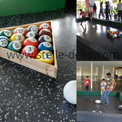 vendo atracción infantil pool futbol snockball infantil