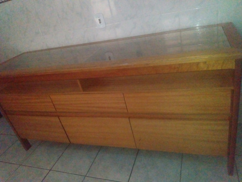 vendo balcão em madeira maciça