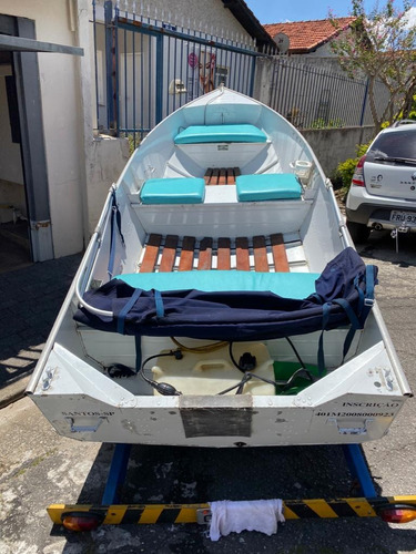 vendo barco de aluminio metalglass