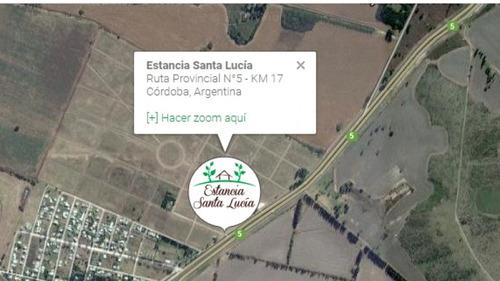 vendo: barrio cerrado estancia santa lucia primera etapa a, 3 lotes colindantes