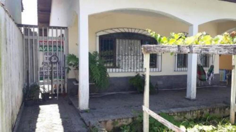 vendo bela casa à 600 mts da praia em peruíbe - 5191 | npc