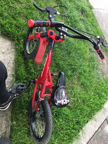 vendo bici gw para niño poco uso