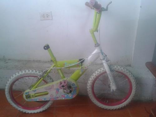 vendo bicicleta rin 16 para niñas