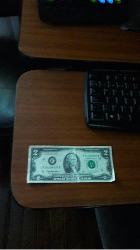 vendo billete de dos dolares 1995 para coleccionistas en bue