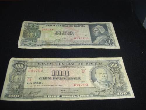 vendo billetes de 50 y 100 soles de oro decada del 60