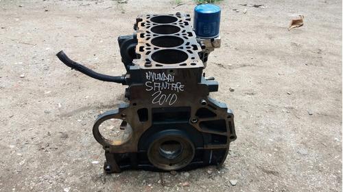 vendo block de motor de hyundai santa fe, año 2008, diesel