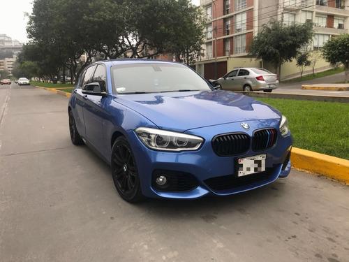 vendo bmw serie 1 120i azul estoril 2015 paquete m
