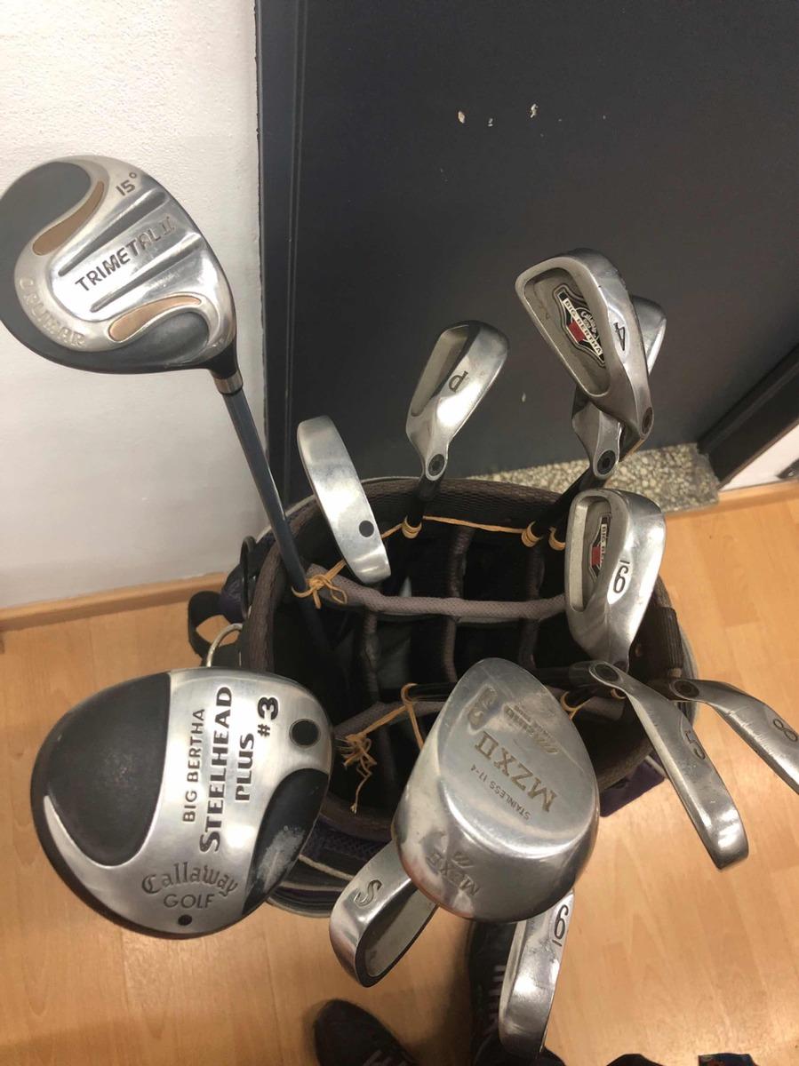 eca917b151dff vendo bolsa y palos de golf. Cargando zoom.
