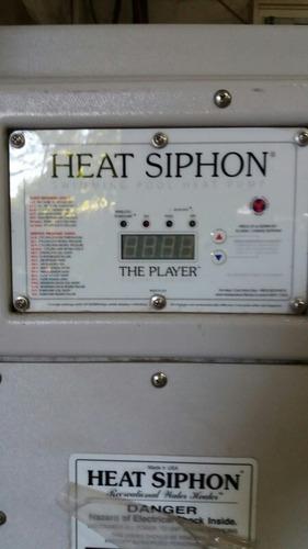 vendo bomba de calor para piscina