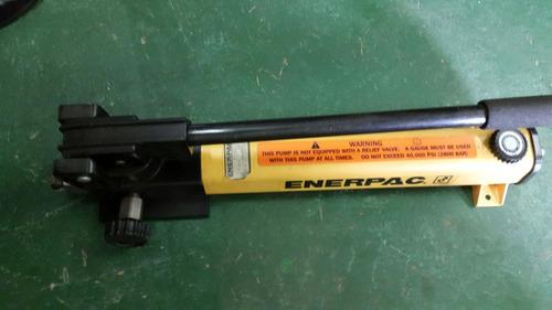 vendo bomba hidraulica marca enerpac 40.000 lbrs poco uso
