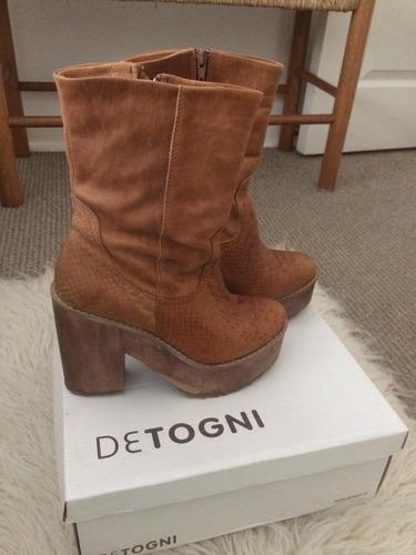 vendo botas detogni prácticamente nuevas, muy baratas