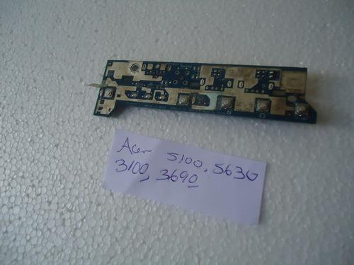 vendo boton de encendido original acer 5100, 5630