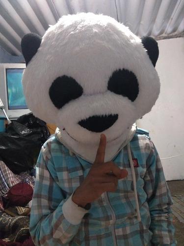 vendo cabeza de botarga de oso panda
