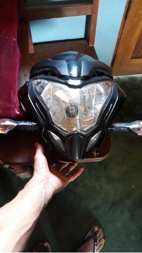 vendo cabeza entera de mi moto ns 200 sale con el faro másca