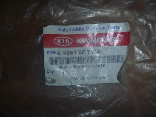 vendo cable abril tapa motor de kia sportage,# 0 k801 56 710