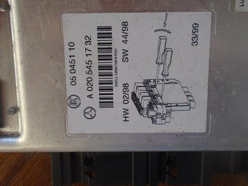 vendo caja de relay de mercedes benz e320, # a 020 545 17 32