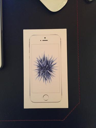 vendo caja iphone se silver 16gb mod. mllp2ci/a