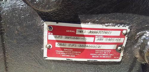 vendo caja transmisión spicer es55 5d