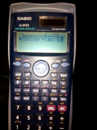 vendo calculadora casio fx-85es de celda