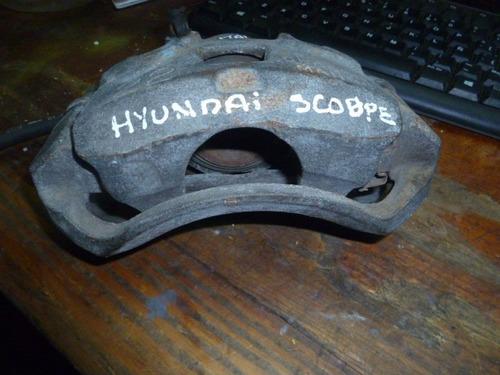 vendo caliper  freno  de hyundai scoupe, # obc0315