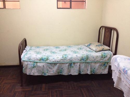 vendo cama de flejes + colchón oferta