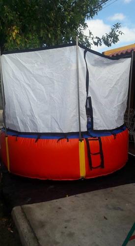 vendo cama  elastica  inflable  nuevita