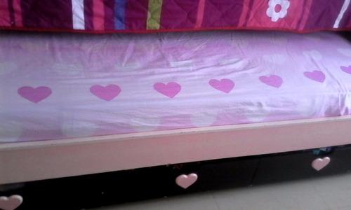 vendo cama-nido en cedro - excelentes condiciones.