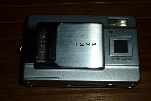 vendo cámara digital / videocámara svp color plata 12mp