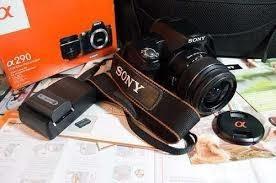 vendo cámara sony alpha 290