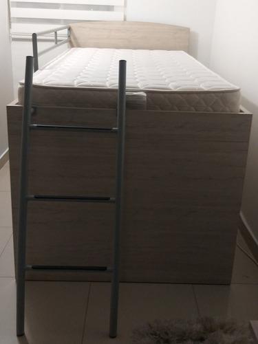 vendo camarote usado, incluye colchón, escalera y nochero!!