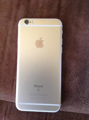 vendo cambio iphone 6s dorado de 16gb excelente estado