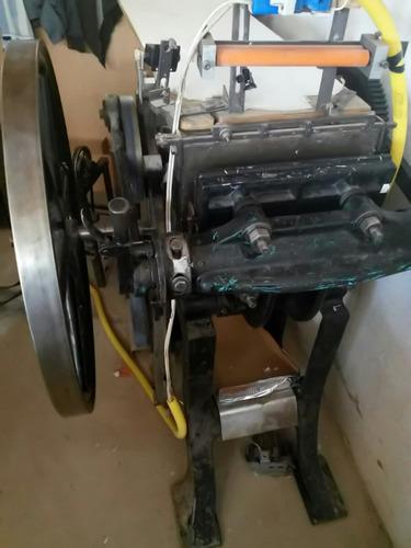 vendo cambio remato prensa tipografica