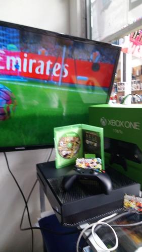 vendo cambio xbox one 500gb 1 juego físico y digital negocia
