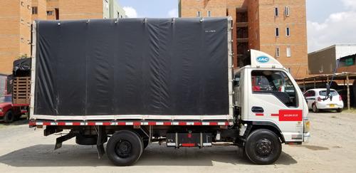 vendo camiòn jac 1040, 3 ton estaca 2013