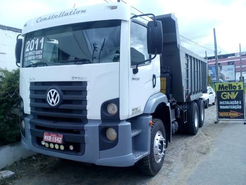 vendo caminhão caçamba traçado vw 31-320 2011 com ar