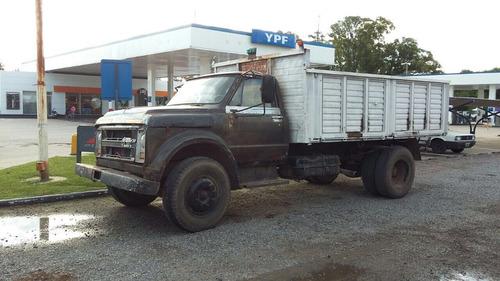 vendo camión chevrolet c 60 modelo 70