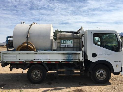 vendo camion dongfeng con estanque limpiafosa