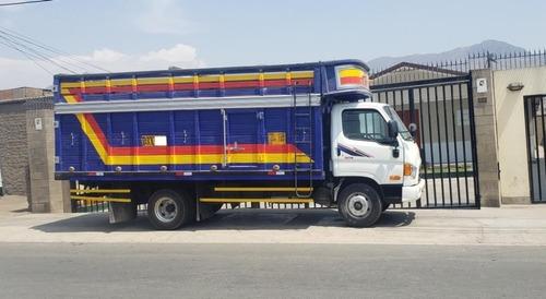 vendo camion huindai hd78 2012 motor sellado con baranda alt
